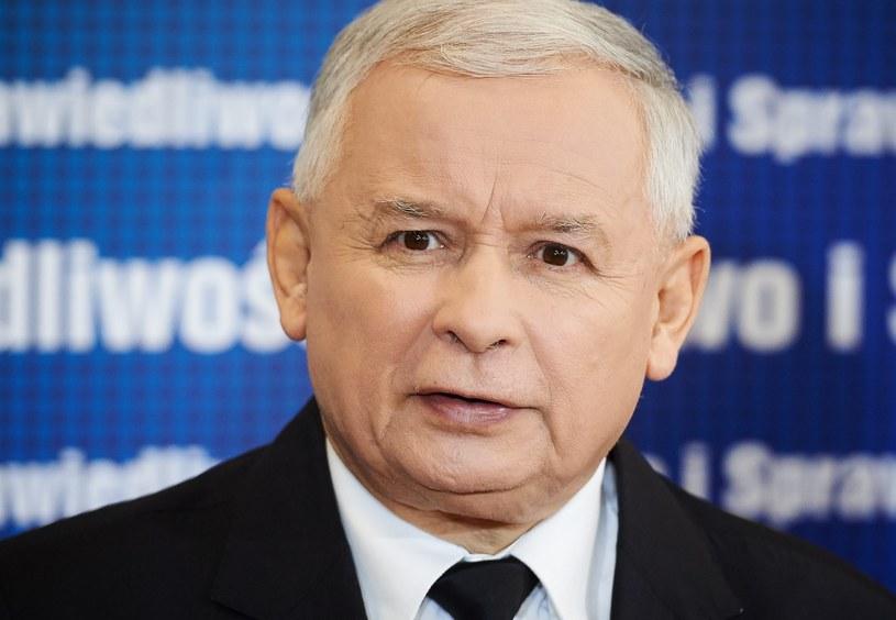 Jarosław Kaczyński /Adam Warżawa /PAP