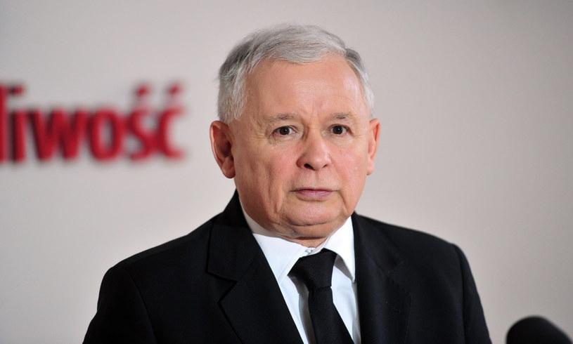 Jarosław Kaczyński /Marcin Bielecki /PAP