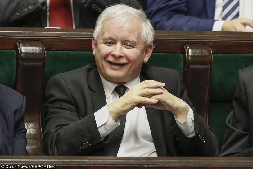 Jarosław Kaczyński /Darek Nowak /Reporter