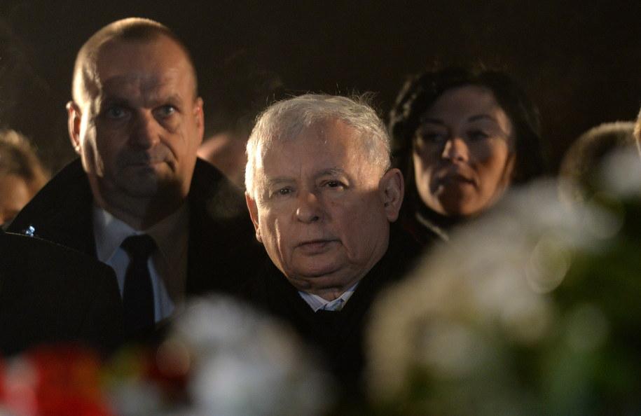 Jarosław Kaczyński /Piotr Polak /PAP