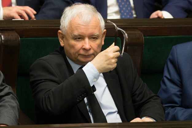 Jarosław Kaczyński /Tomasz Jastrzebowski/Foto Olimpik /Reporter