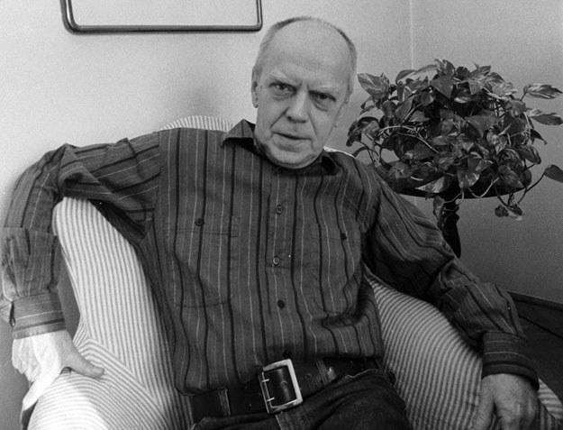 Jarosław Marek Rymkiewicz został wyrzucony z Instytutu Badań Literackich /Jacek Domiński /Reporter