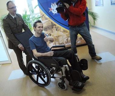 Jarosław Wałęsa dziękuje lekarzom, którzy leczyli go po wypadku