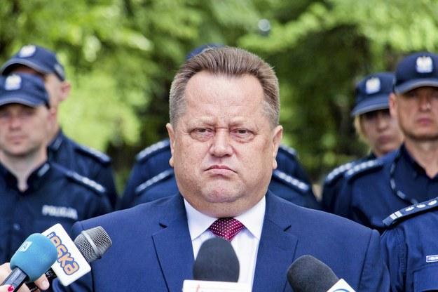 Jarosław Zieliński, wicemi nister spraw wewnętrznych /Marcin Onufryjuk /Agencja Gazeta