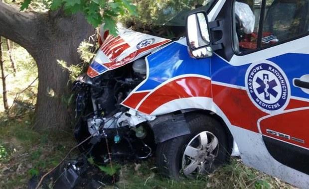 Jastarnia: Wypadek z udziałem karetki pogotowia. Są ranni