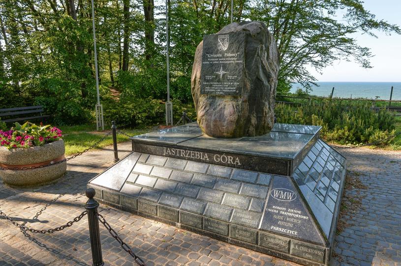 Jastrzębia Góra jest najbardziej wysuniętą na północ miejscowością w Polsce /GERARD/ REPORTER /East News