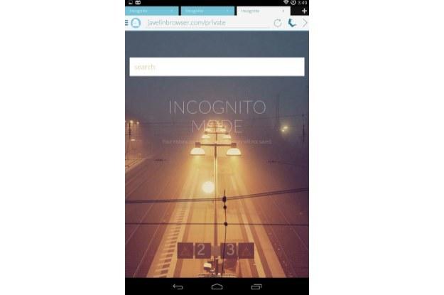 Javelin Browser /materiały prasowe