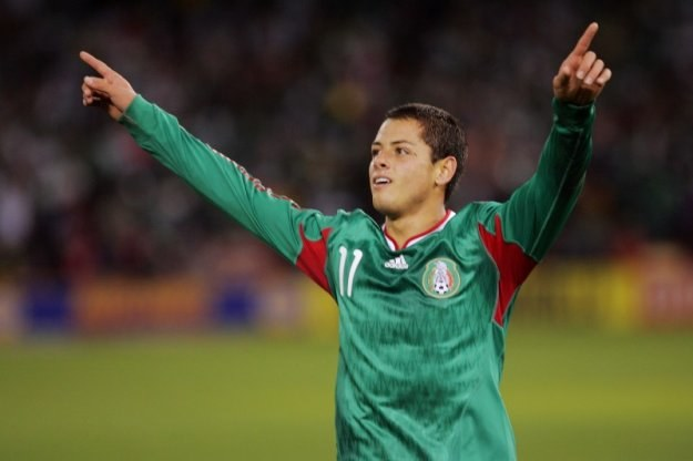 Javier Hernandez - nowy napastnik Manchester United /Getty Images/Flash Press Media