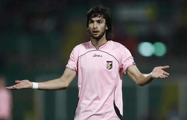 Javier Pastore na razie nie zamierza odchodzić z US Palermo /AFP