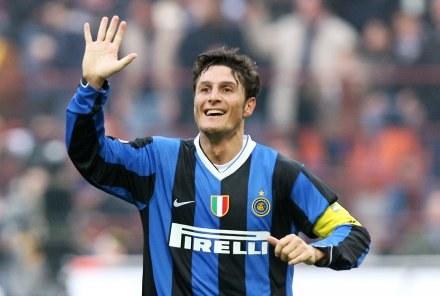 Javier Zanetti zdobył gola w oficjalnym meczu Interu po czterech latach przerwy /AFP