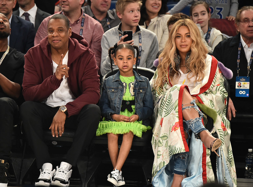 Jay Z, Blue Ivy i Beyonce /Getty Images
