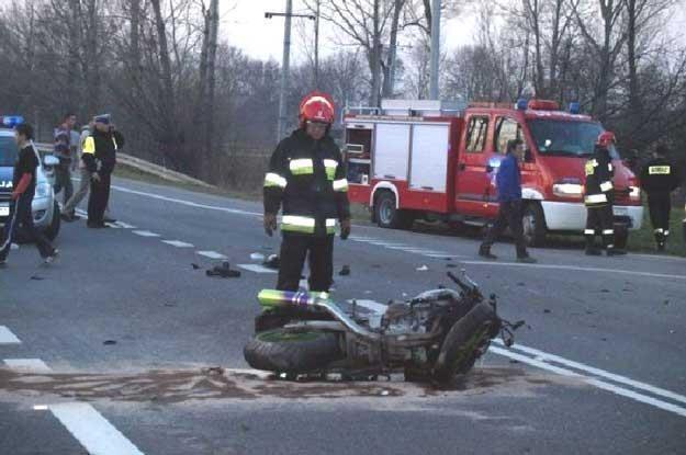 Jazda na motocyklu jest niebezpieczne (fot. ilustracyjna) /
