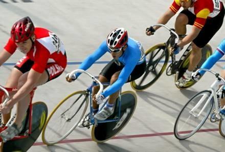 Jazda rowerem to nie mała dawka adrenaliny /AFP