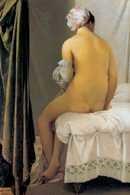 Jean-Auguste-Dominique Ingres, Kąpiąca się, 1808 /Encyklopedia Internautica