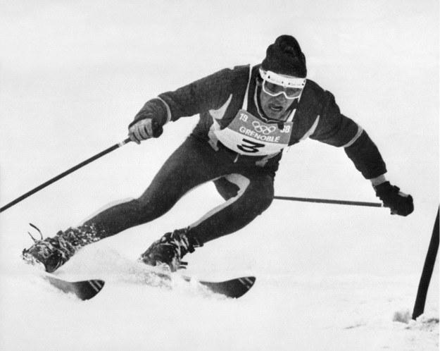 Jean-Claude Killy zdobył trzy złote medale w Grenoble. /AFP
