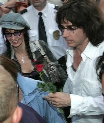 Jean Michel Jarre z żoną - fot. Łukasz Głowala /Agencja SE/East News