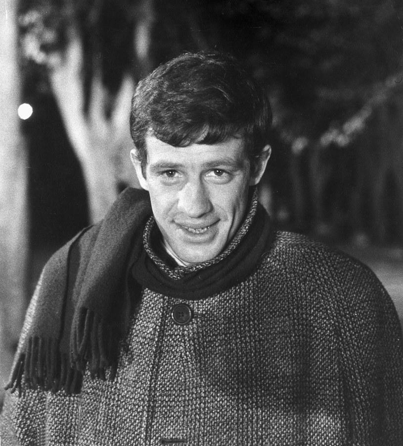 Jean-Paul Belmondo w 1960 roku /Getty Images