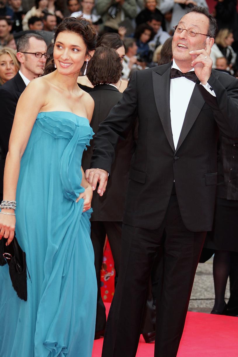 Jean Reno z żoną - Zofią Borucką /Francois Durand /Getty Images