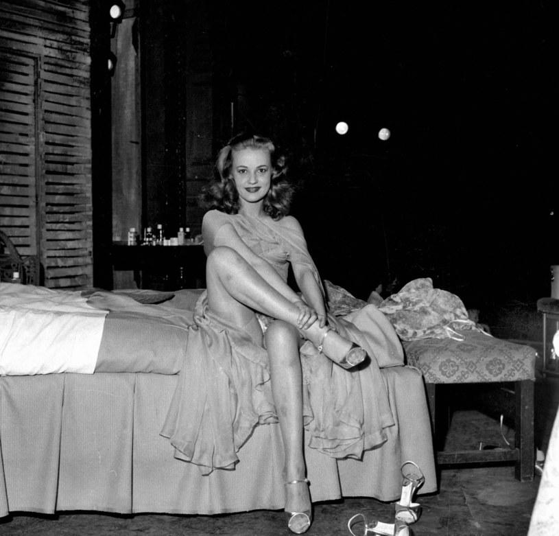 "Jeanne Moreau w ""Kotce na gorącym, blaszanym dachu"" (1956) /Roger Viollet /East News"