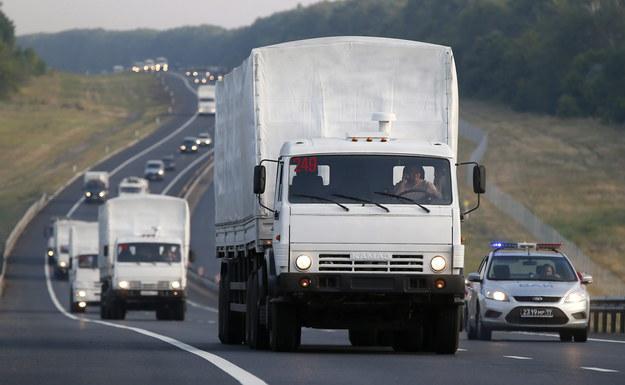 """Jeden """"biały konwój""""? Dziennikarze nie mogą doliczyć się aut"""