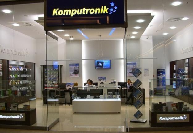 Jeden z 250 salonów Komputronika /materiały prasowe