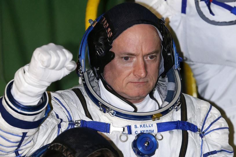 Jeden z astronautów Scott Kelly /AFP