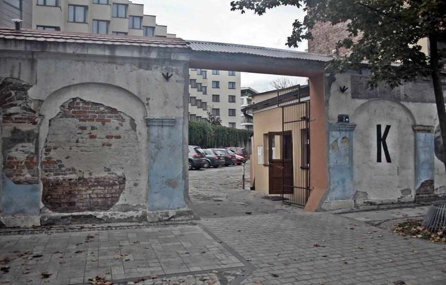 Jeden z budynków przy Placu na Groblach /Maciej Nycz /RMF FM