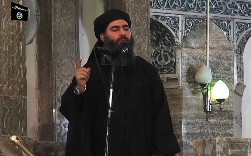 Jeden z liderów ISIS Abu Bakr al-Baghdadi /YouTube