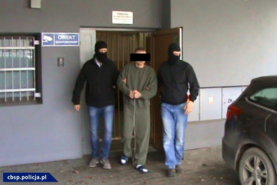 Jeden z mężczyzn zatrzymanych w związku z zabójstwem Jaroszewiczów /Policja