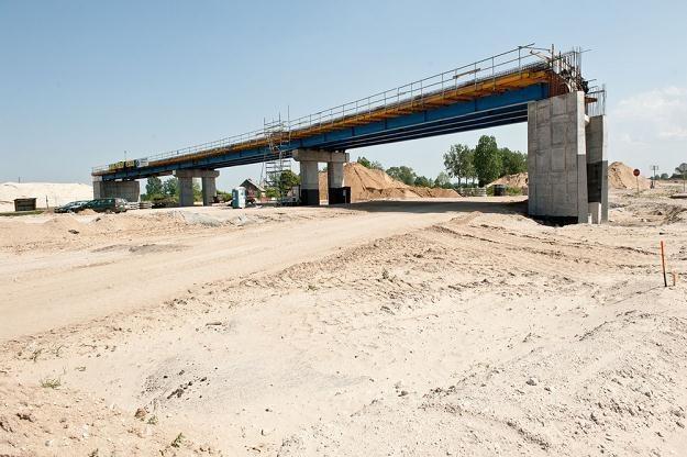 Jeden  z opóźnionych odcinków autostrady A1 / Fot: Piotr Lampikowa /Reporter