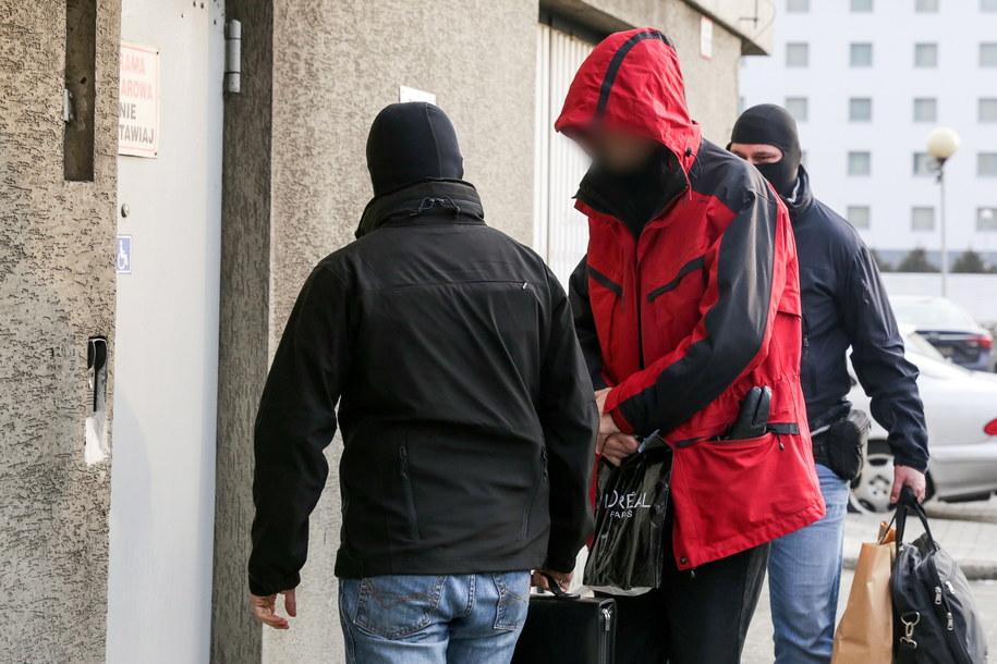Jeden z podejrzanych w sprawie prywatyzacji Ciechu /Dominik Gajda /PAP