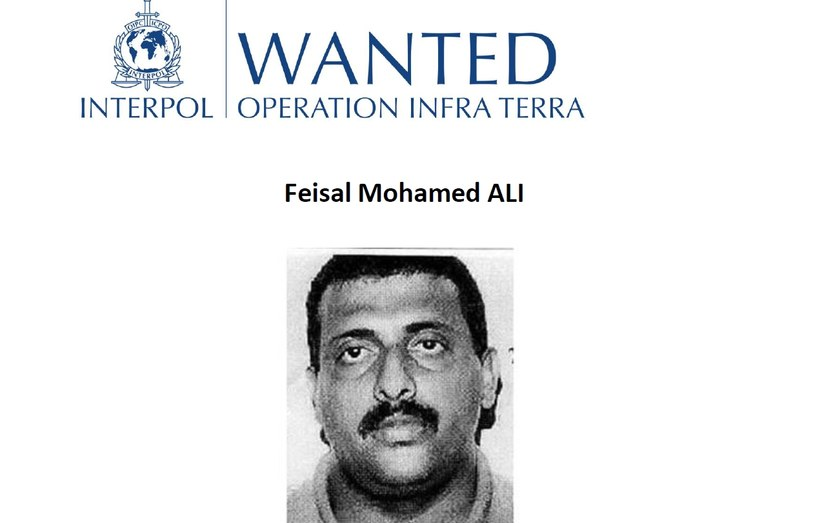 Jeden z poszukiwanych, fot. Interpol /