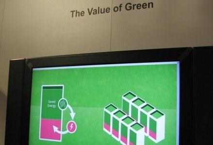"""Jeden z przykładów """"zielonych"""" rozwiązań Alcatel-Lucent - oszczędzanie energii przy serwerowniach /INTERIA.PL"""