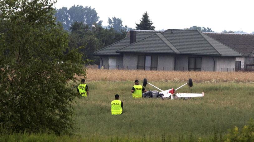 Jeden z samolotów, które uległy wypadkowi /Michał Walczak /PAP