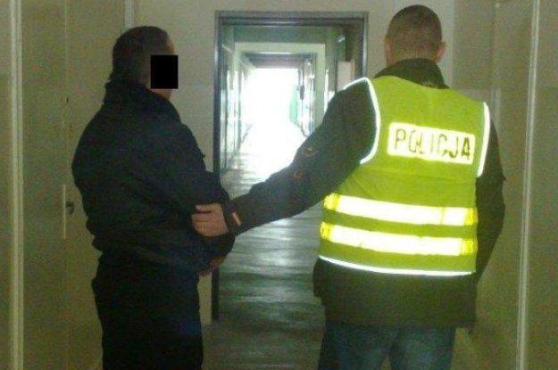 Jeden z zatrzymanych złodziei /Policja