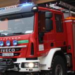 Jedna osoba zginęła w pożarze budynku w Toruniu