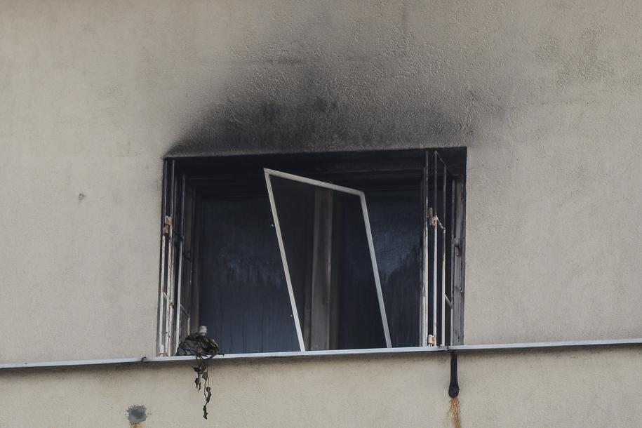 Jedna osoba zginęła w pożarze mieszkania na Mokotowie /Jakub Kamiński   /PAP