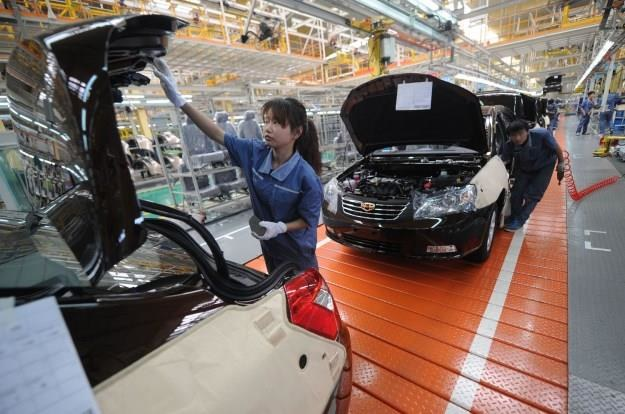 Jedna z chińskich fabryk Geely /AFP