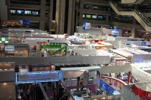 Jedna z hal wystawowych targów Computex /INTERIA.PL