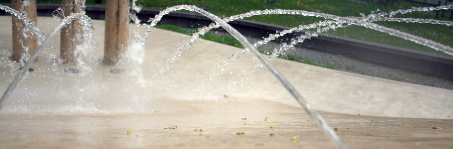 Jedna z krakowskich fontann /Maciej Nycz, RMF FM /RMF FM