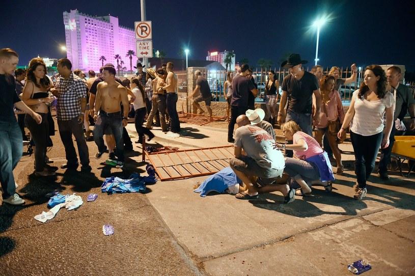 Jedna z ofiar masakry w Las Vegas /AFP