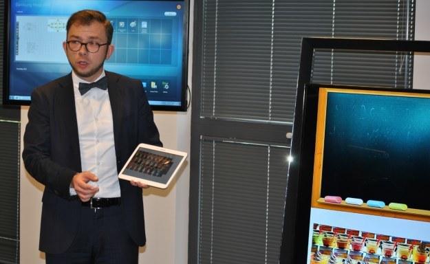 Jedna z prezentacji przygotowanych dla uczestników otwarcia biura /INTERIA.PL