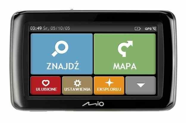 Jedna z wielu nawigacji Mio dostępnych w Polsce /materiały prasowe