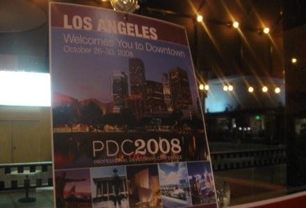 Jedna z wielu restauracji w centrum Los Angeles, która zaprasza do siebie uczestników PDC2008. /INTERIA.PL