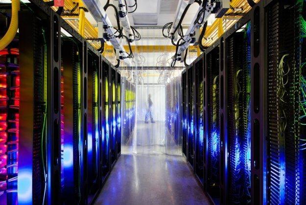 Jedno z centrów danych Google /materiały prasowe
