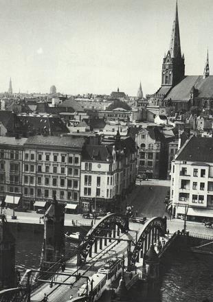 Jedno ze starych zdjęć Szczecina /