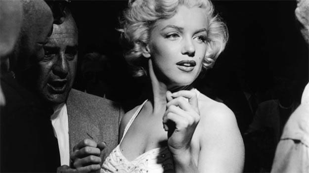 Jedno ze zdjęć Marilyn Monroe, które zobaczyć będzie można w Katowicach. /materiały prasowe