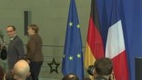 Jednolite stanowisko Merkel i Hollande ws. przedłużenia sankcji na Rosję