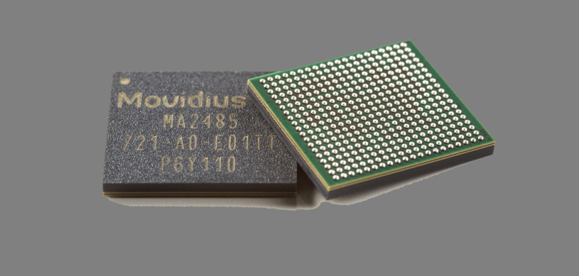 Jednostka przetwarzania obrazu (VPU) Movidius Myriad X /materiały prasowe