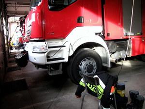 Jednostka straży pożarnej w której pracuje aktualnie mistrz Olimpijski Zbigniew Bródka /Kamil Młodawski /RMF FM